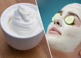 6 DIY Sour Cream Face Masks For Beautiful Skin