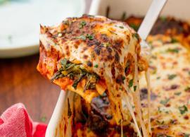 Recipe- Spinach Lasagna in a Healthier, Gluten-Free Form