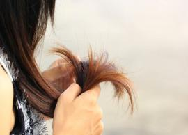 Suffering From Split Ends, Try These Effective Home Remedies