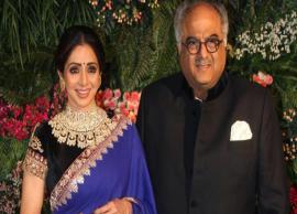 Sridevi to be honoured, Boney gets emotional