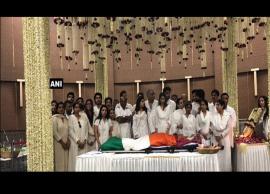 तिरंगे में लिपटा है श्रीदेवी का पार्थिव शरीर, राजकीय सम्मान के साथ होगा अंतिम संस्कार, देखे तस्वीरे-Photo Gallery