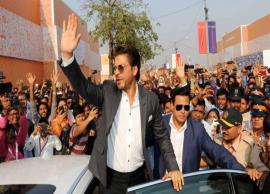 Shah Rukh Khan Represented Entertainment Industry at the Magnetic Maharashtra Convergence Summit