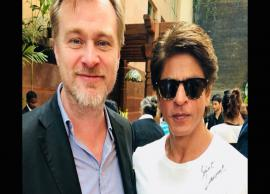 SRK Had a Fanboy Moment With Christopher Nolan