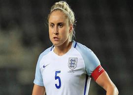 The Caption of England Football Team- Steph Houghton