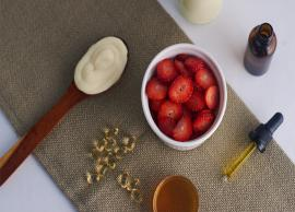 Get Super Glowing Skin With This DIY Strawberry Face Mask