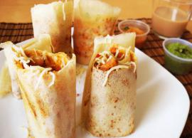 Recipe To Make Street Style Dosa at Home