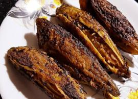 Recipe- Healthy Side Dish Stuffed Karela