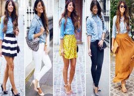 5 Ways To Style Your Denim Shirt