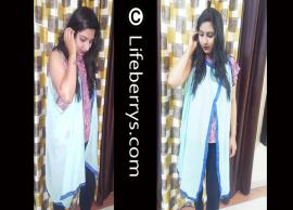 VIDEO DIY 2- Different Ways To Style Your Dupatta Over Jeans