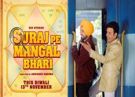 Manoj Bajpayee, Diljit Dosanjh, Fatima Sana Shaikh starrer 'Suraj Pe Mangal Bhari' gets a release date