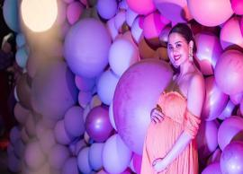 Surveen Chawla welcomes baby Eva with her tinny toes on Instagram