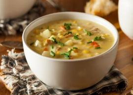 Summer Recipe- Healthy and Delicious Sweet Corn Soup
