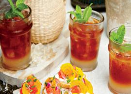 Recipe- Welcome Summers Sweet Heat Arnold Palmer