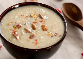 Navratri Recipe- Sweet Potato Kheer For Bhog