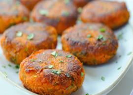 Recipe- Healthy To Eat Spicy Sweet Potato Tikki