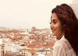 PICS- Taapsee Pannu Vacation Pics From Spain-Photo Gallery