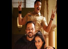 Tabu surprises 'Simmba' Ranveer Singh and director Rohit Shetty on set
