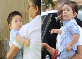 PICS- Taimur Ali Khan Gears Up For First Day at School With Mom Kareena Kapoor Khan