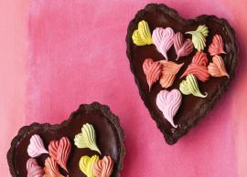 Valentines Day Recipe- Heart Shaped Chocolate Tarts