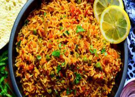 Recipe- Easy To Make Tawa Pulao