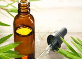 5 DIY Ways To Use Tea Tree Oil To Get Shiny Hair