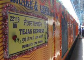Tejas Train makes profit of Rs 70 lakh in first month of operations