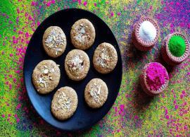 Summer Recipe- Eggless Thandai Cookies