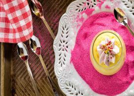 Recipe- Eggless Thandai Cheesecake Mousse