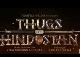VIDEO- Aamir Khan's 'Thugs of Hindostan' logo is decked with fireworks for Diwali 2018
