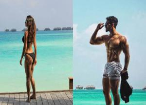 Pics- Tiger Shroff and Disha Patani are Giving Major Beach Goals-Photo Gallery