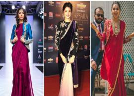 5 Ways To Style Your Saree During Winters
