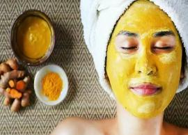 8 DIY Turmeric Mask For Skin Whitening