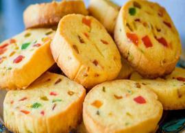 Recipe- Eggless Chocolate Tutti Frutti Cookies