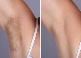 Want To Get Rid of Underarm Hair? Try These Natural Tips