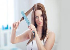 5 Ways To Different Styles With Hair Straightener
