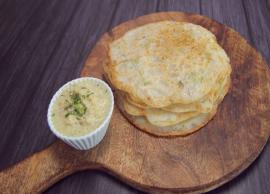 Navratri Recipe- Soft and Fluffy Sabudana Uttapam