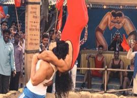 Varun Dhawan wrestles at a desi akhada and it will leave you impressed