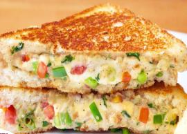 Recipe- Simple and Quick To Make Veg Sandwich