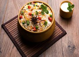 Recipe- Delicious Vegetable Biryani