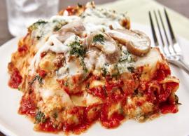 Recipe- Easy To Make Vegetable Lasagna