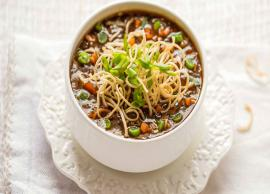 Recipe- Easy To Make Vegetable Manchow Soup