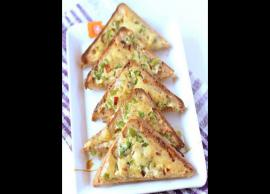 Recipe- Vegetable Toast are Too Delicious To Eat