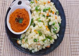 Recipe- Get Relief From Too Much Cooking With Vegetable Upma in Instant Pot