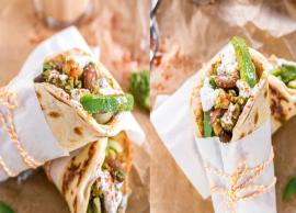 Recipe- Easy To Make Vegetarian Pita Wraps