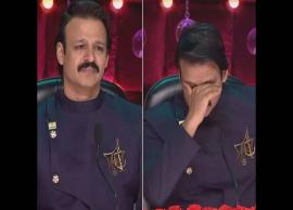 VIDEO- Sonali Bendre's co-judge Vivek Oberoi bursts into tears as contestant plays cancer patient on India Best Dramebaaz