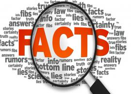 Did you know? Some interesting facts that will leave you surprised