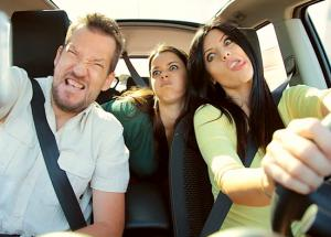 5 Weird Things People Do in Your Car