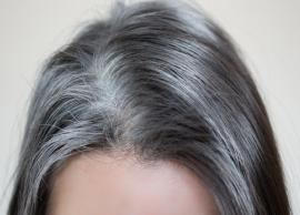 5 Home Remedies To Get Rid of White Hair