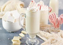 Recipe- Peppermint White Hot Chocolate