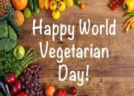 World Vegetarian Day- 5 Reasons Why You Should Celebrate It